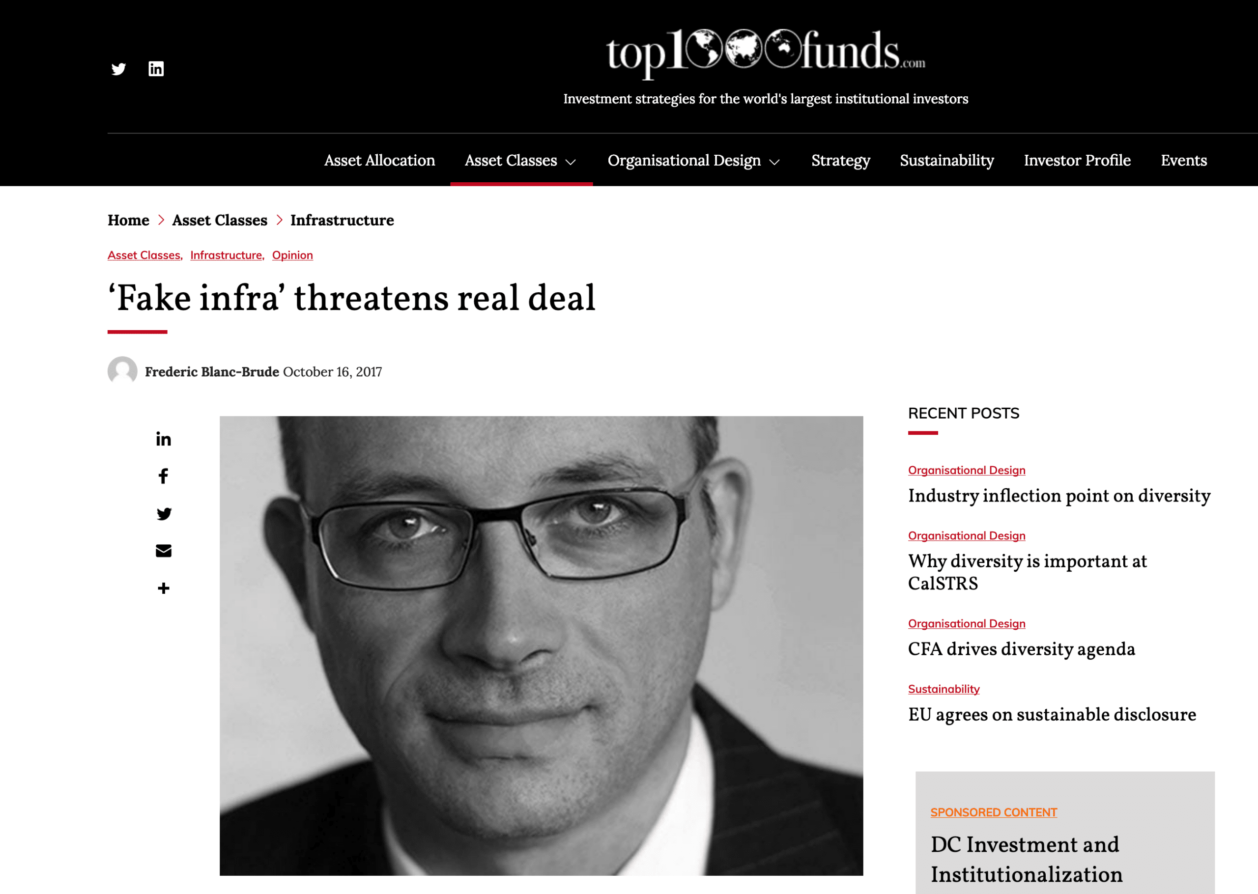 Fake infra threatens real deal