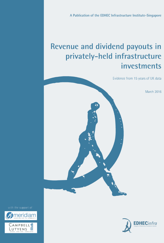 Revenue and dividend pay-outs in privately-held infrastructure investments: Evidence from 15 years of UK data