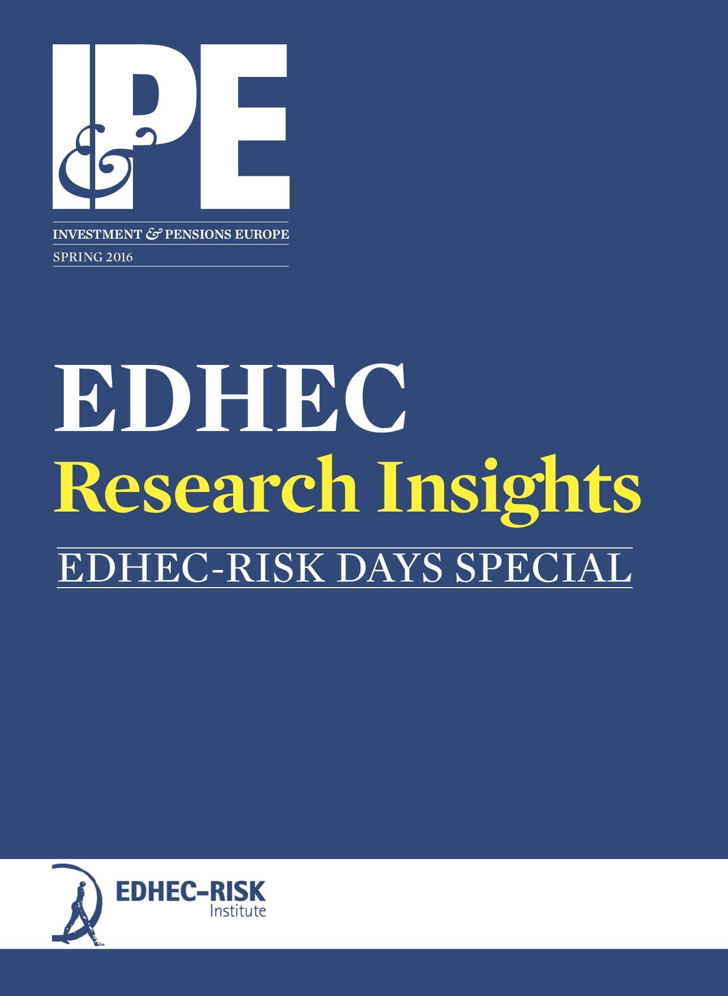 2016 EDHEC-Risk Institute Research Insights