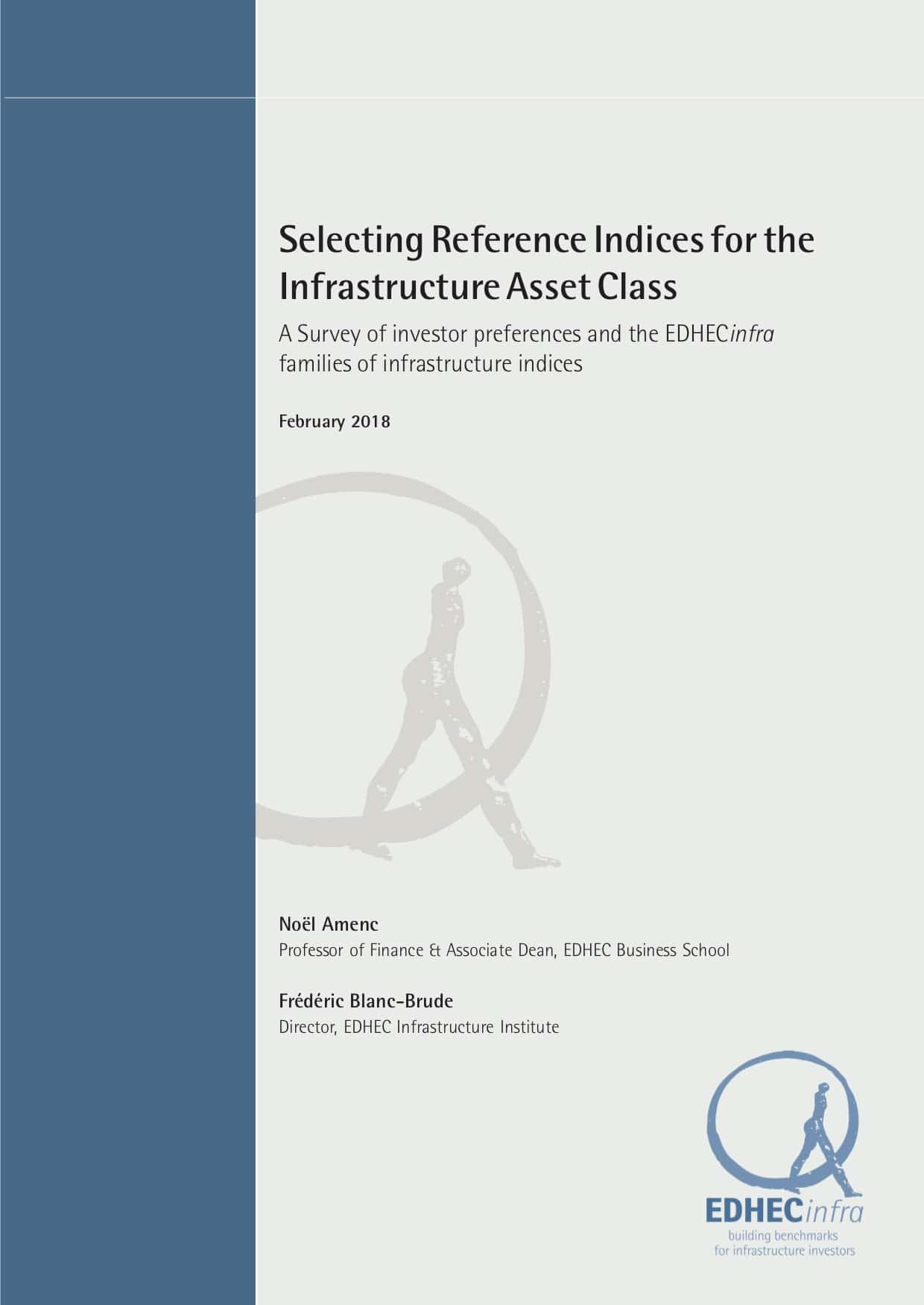 Selecting Reference Indices for the Infrastructure Asset Class