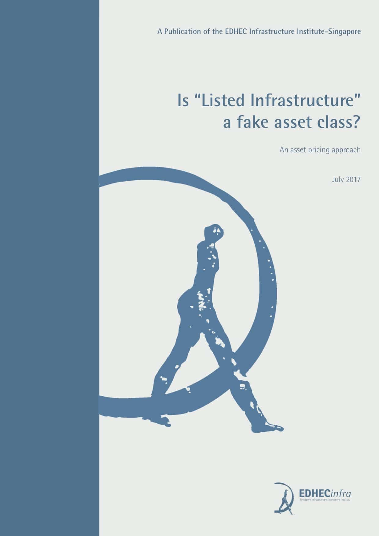 "Is ""Listed Infrastructure"" a fake asset class? An Asset Pricing Approach"