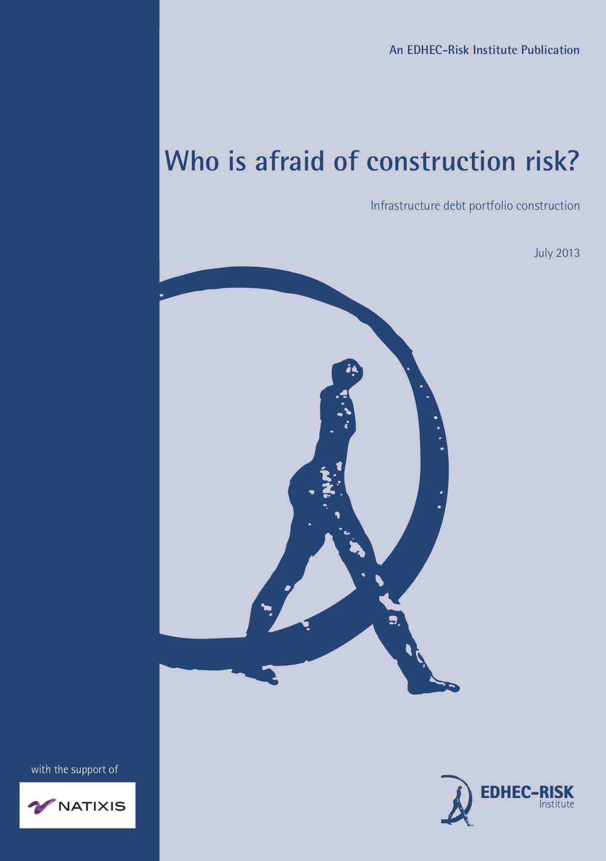 Who is afraid of Construction Risk? Portfolio Construction with Infrastructure Debt