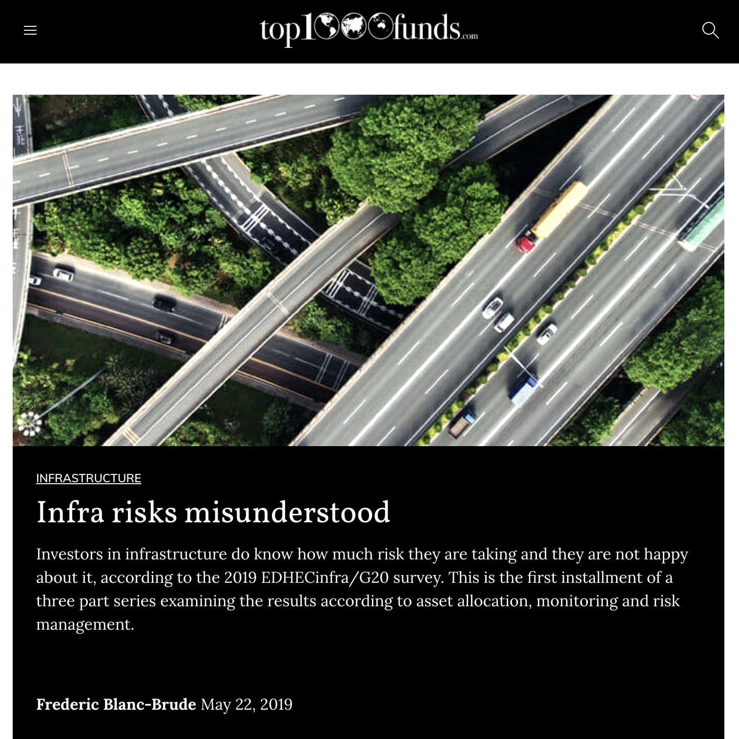infra risks misunderstood