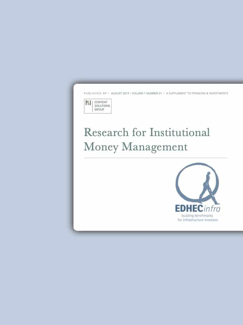 Research for Institutional Money Management