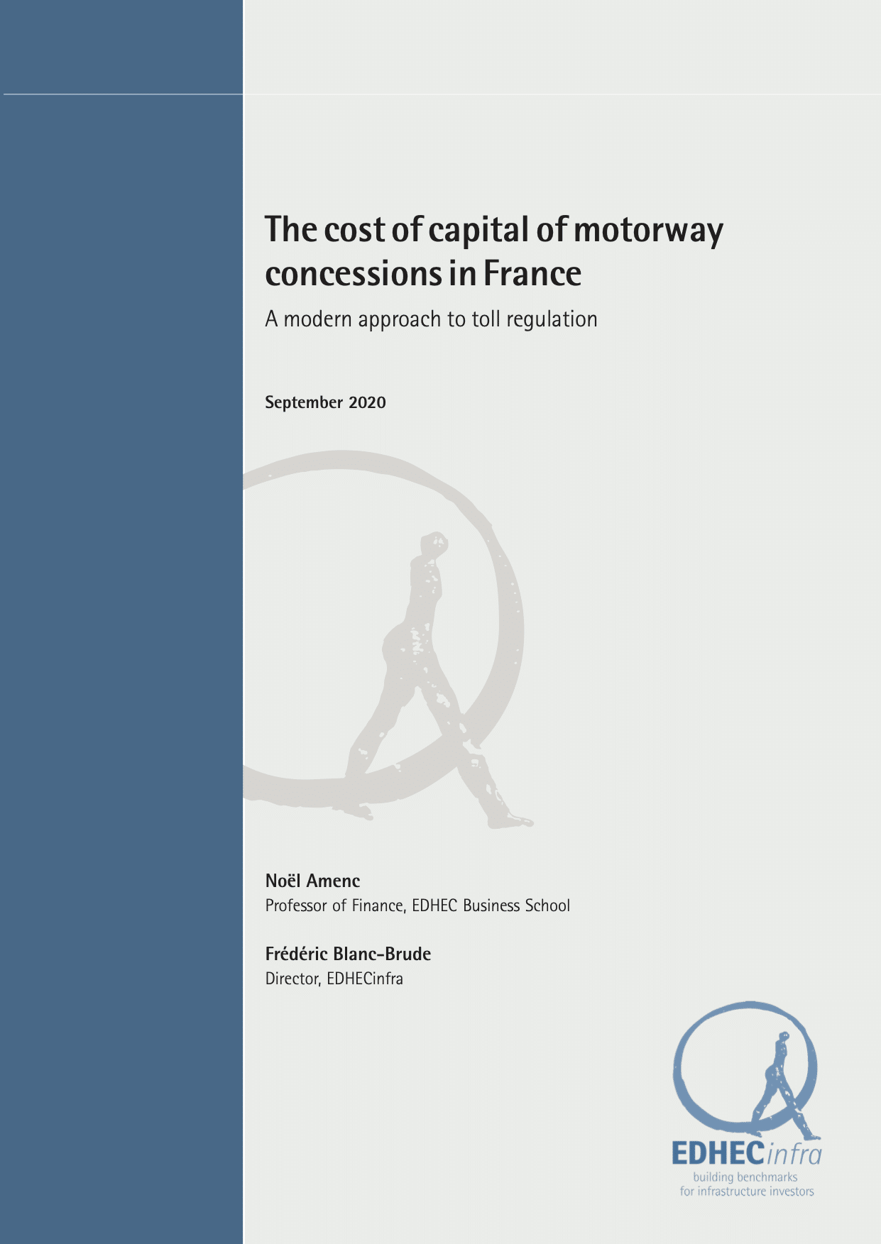 The cost of capital of motorway concessions in France – A modern approach to toll regulation